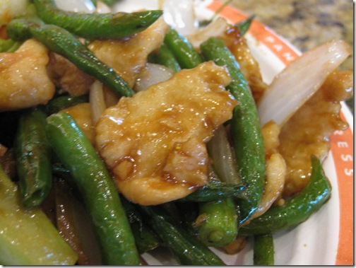 Panda Express String Bean Chicken