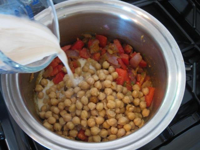 Channa Masala Recipe With A Coconut Kick
