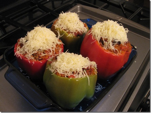 IMG 4256 thumb Guest Recipe: Danicas Daily Cheesy Bacon & Bean Stuffed Peppers
