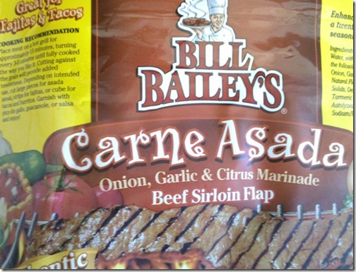 Bill Bailey's Carne Asada