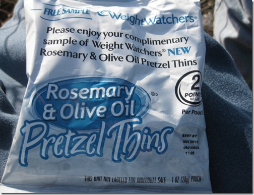 Weight Watchers Rosemary & Olive Oil Pretzel Thins