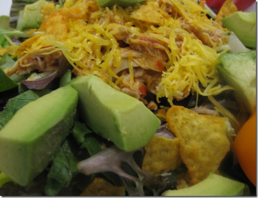 Mexican Asian Fusion Taco Salad