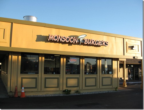 Monsoon Burger