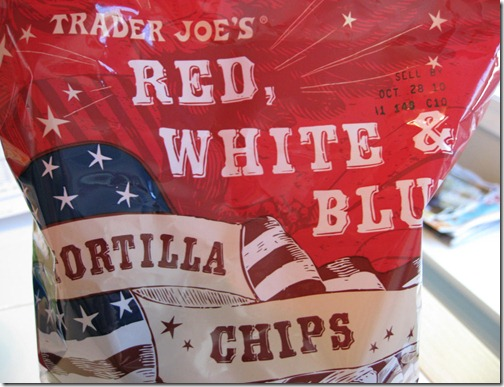 Red, White & Blue Tortilla Chips