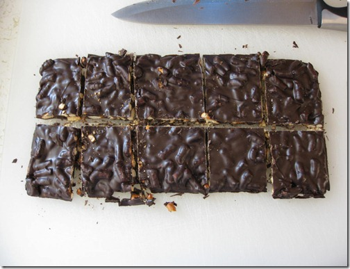 2 Point Dark Chocolate Pretzel Bark!