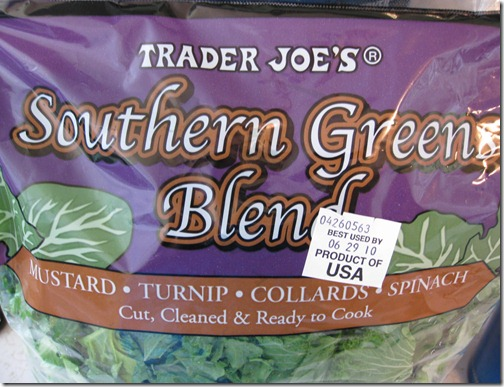 Trader Joe's Southern Greens Blend