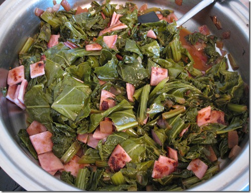 The BEST Collard Greens with Bacon I've Ever Made