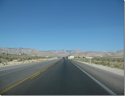 Road to Pahrump, NV