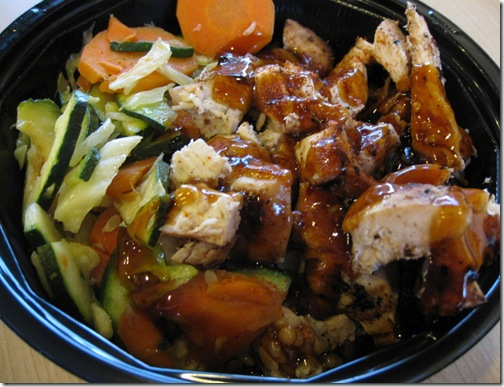 Samurai Sam's Spicy Chiken Teriyaki Bowl