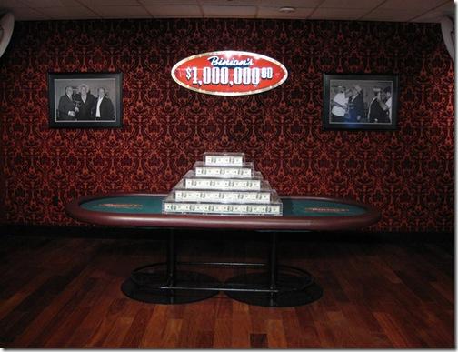 Binion's $1,000,000