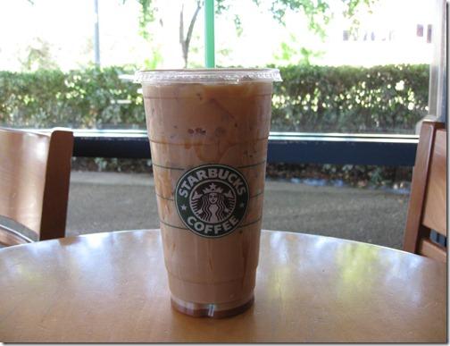 Starbuck's Iced Latte