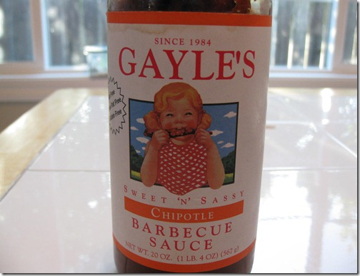 Gayle's Chipotle BBQ Sauce