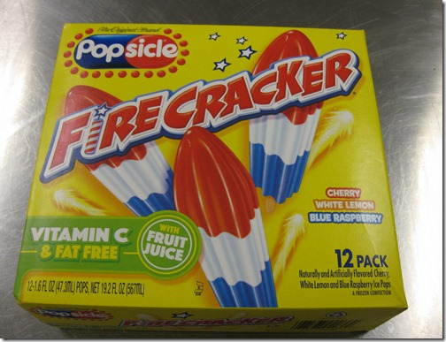 Fire Cracker Popsicles!