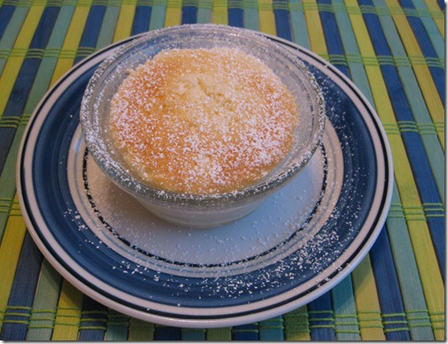 Very Lemony Pudding Cake