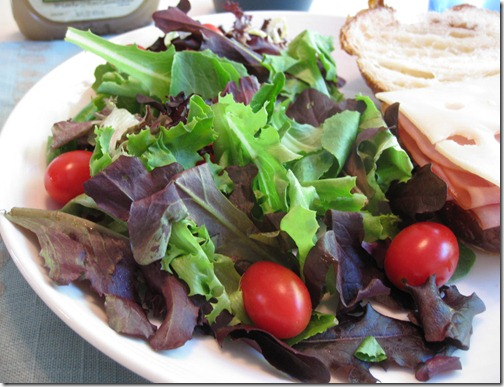 Simple Mixed Greens Salad
