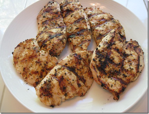 Grilled Blackened Chicken :)