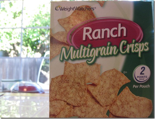 Weight Watchers Ranch Multigrain Crisps