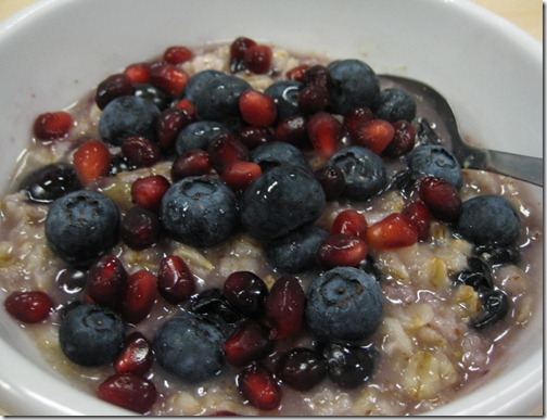 POM Blueberry Oatmeal