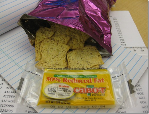 Ranch Crackers & Cheese