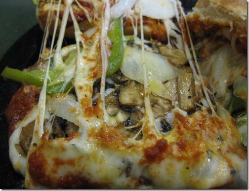 Veggie Pizza Sandwich