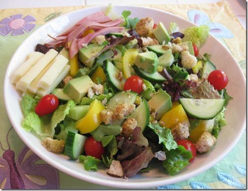 Simple Chef Salad