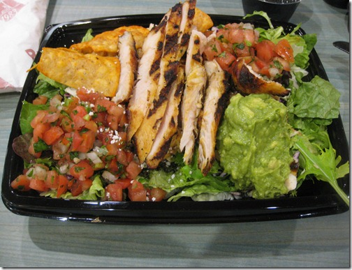 Rubio's Grilled Chipotle Chicken Salad