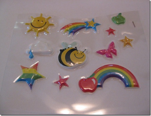 Sunshine & Rainbow Stickers
