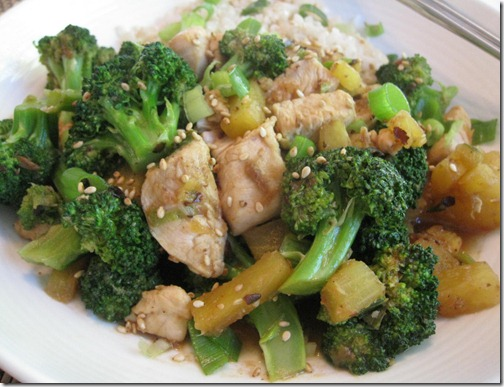 Sesame Pineapple Chicken