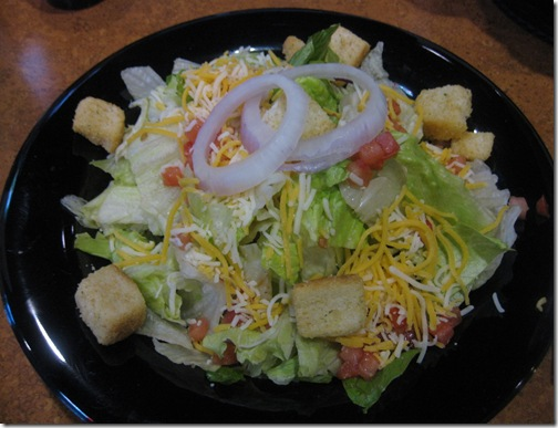 Buffalo Wild Wings Garden Salad
