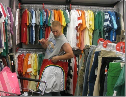 Rainbow shorts