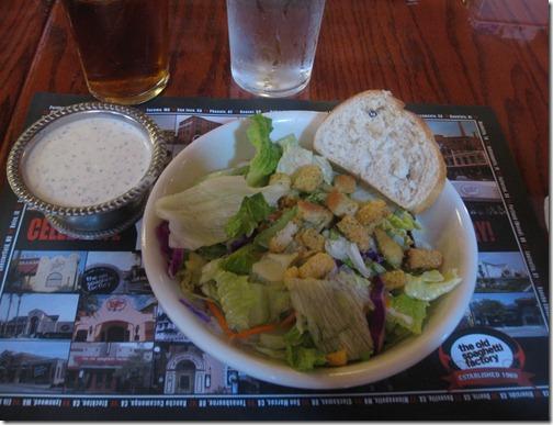 Salad with Creamy Pesto