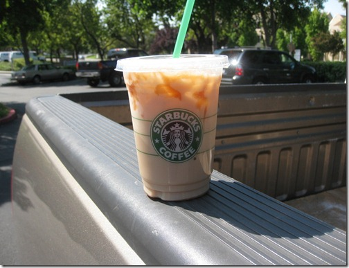 Starbuck's on the go