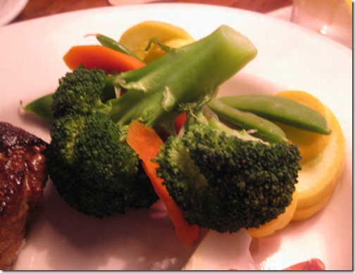 Outback Seasoned Vegetables, no butter or sauces