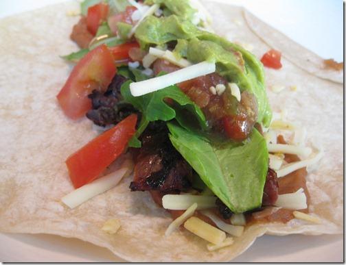 Carne Asada Burrito