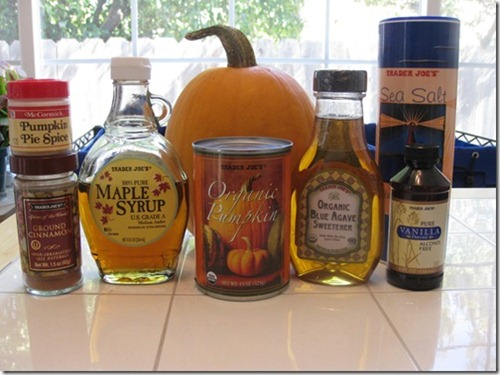 Pumpkin Butter Ingredients