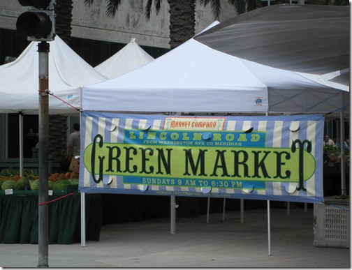 Lincoln Road Green Market