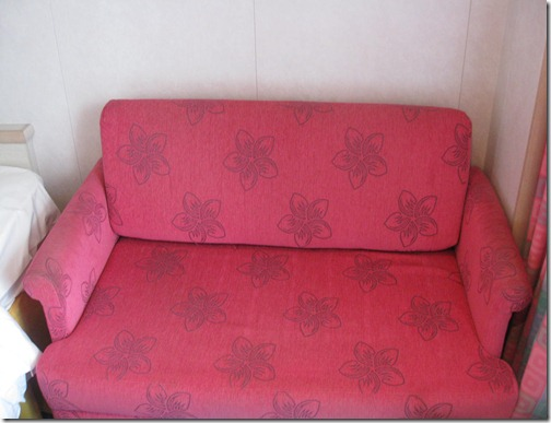 NCL Balcony Fold Out Couch