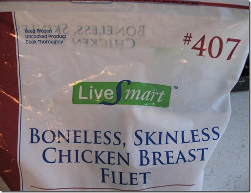 Live Smart Boneless Skinless Chicken Breast