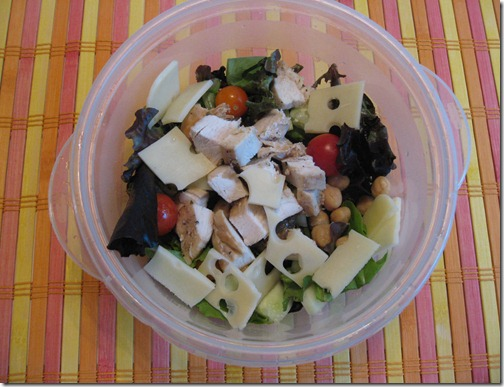 Chicken Salad on the go