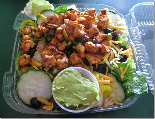 Pita Pit Buffalo Chicken Salad