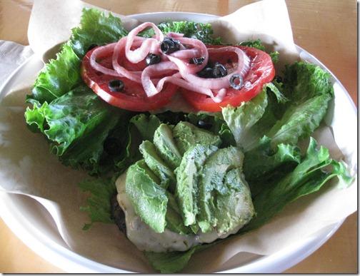 Burger Topping Salad