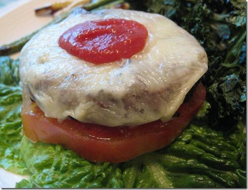 Lettuce Cheeseburger