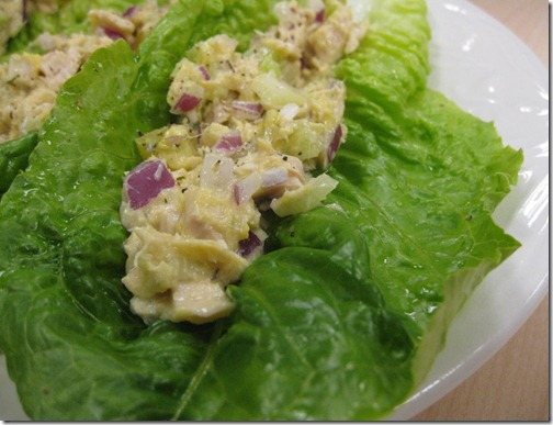 Tuna Lettuce Wraps