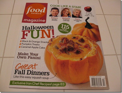 Halloween Fun ~ Food Network Magazine