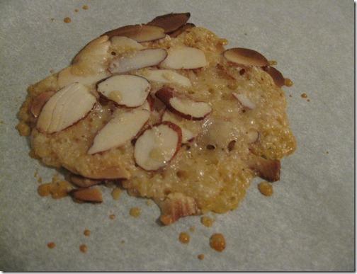 Parmsean Almond Crisp