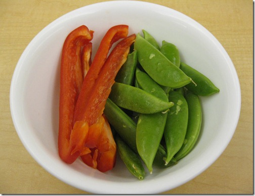 Peppers & Snap Peas