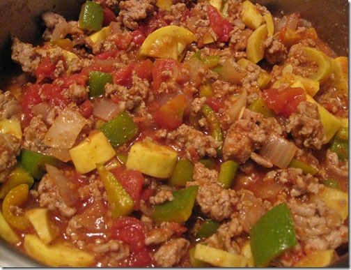 Turkey & Vegetable Taco Mix
