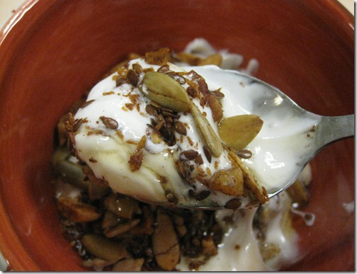 Greek Yogurt with Agave & Granola