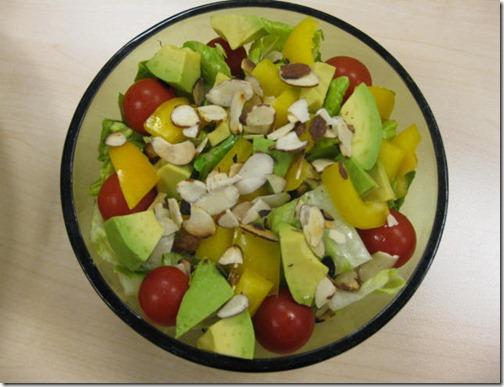 Tomato, Avocado, Pepper Salad