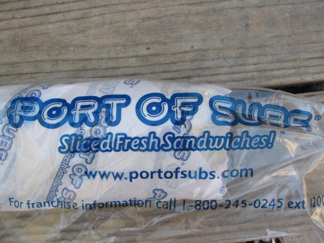 port of subs 6  sandwich